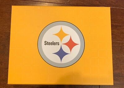 2018 PITTSBURGH STEELERS Season Ticket Holder Box with Promo Items NO TICKETS