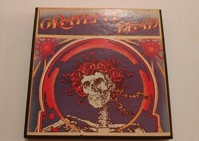 Grateful Dead reel to reel tape