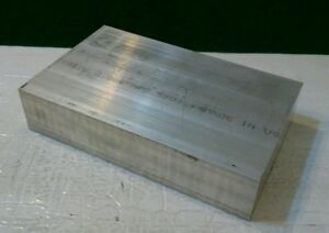 2 X 4 X 6, 6061 aluminum new stock cnc machining tool solid block machineable