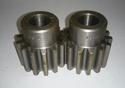 Qty two (2) Global Gears - S814 External Tooth Spur Gear