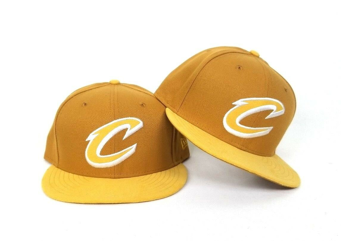 Wheat Timberland color New Era Cleveland Cavaliers 9Fifty Snapback ... 069d1afb7a99