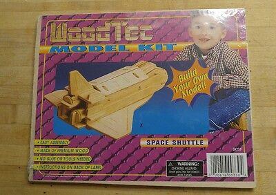 3D Woodtec Model Kit Construction Craft Wood Kit   Space Shuttle