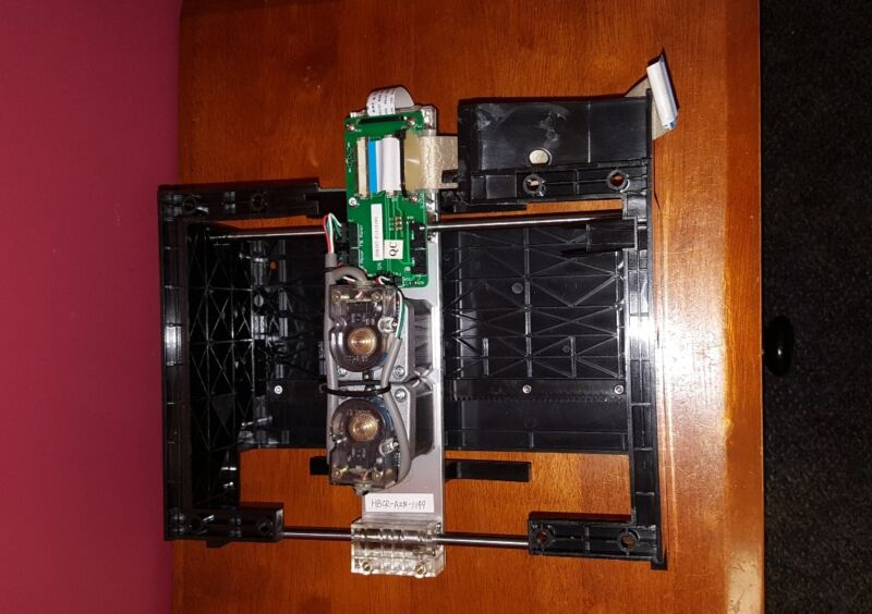 S250 DVDNow  MovieMate DVD Kiosk  Carriage Assembly  Used Parts