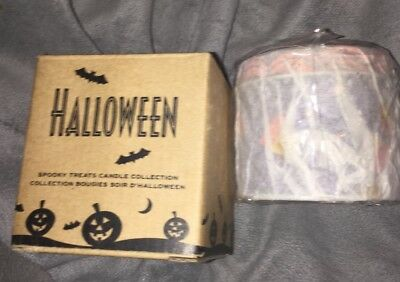 AVON  2004  SPOOKY TREATS CANDLE COLLECTION DANDY CANDY CORN  HALLOWEEN 🎃 NEW - Avon Halloween