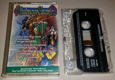 Christmas Comedy Classics by Various Artists Cassette Tape Oct-1985 ()