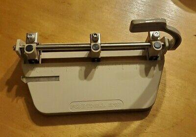 Vintage Skilcraft Foothill 210 Adjustable 3-hole Punch Paper