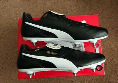 Puma King Top SG Leather Football boots BNIB Size  11.5  UK - NEW - GENUINE