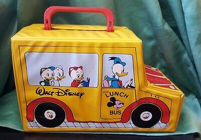 Disney Kassetten Koffer Cassette Case 70er 80er Vintage forty four School Bus