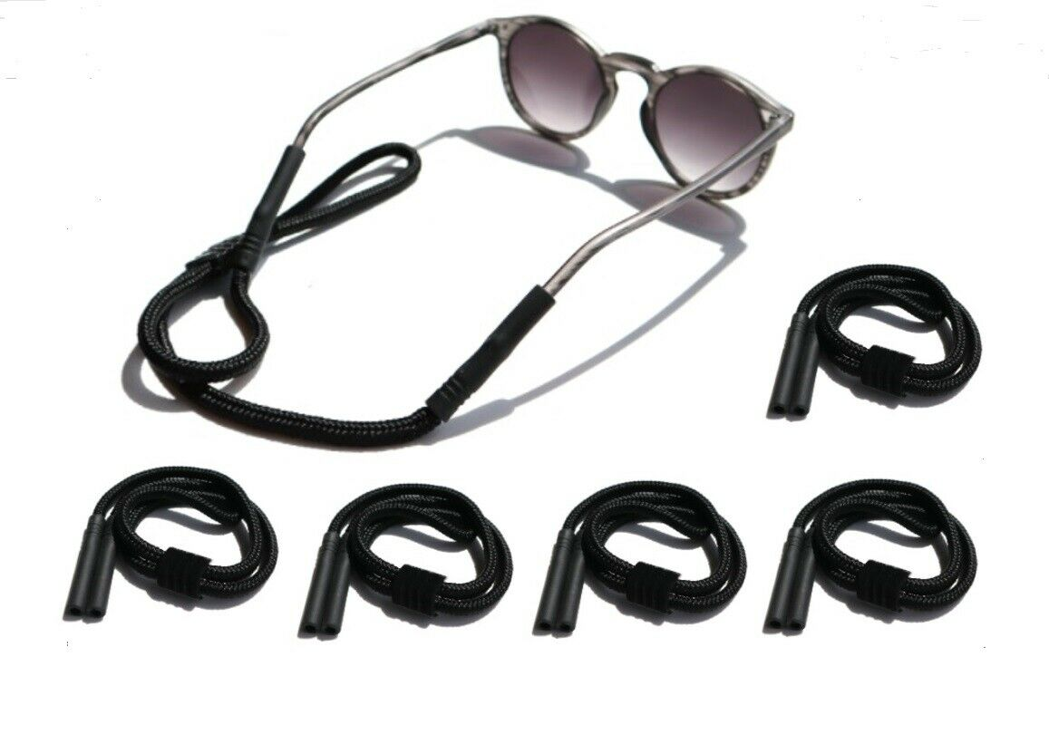 5Pcs Glass Strap Neck Cord Sports Eyeglasses Band Sunglasses Rope String Holder Eyeglass Straps, Cords & Grips