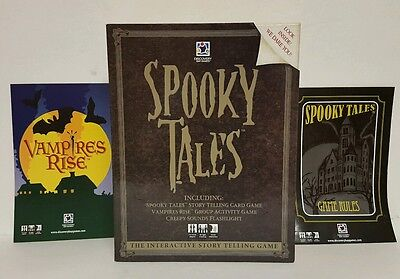 Halloween Kid Stories Interactive (Spooky Tales Interactive Story Telling Card Game Sleepover Camping Halloween)