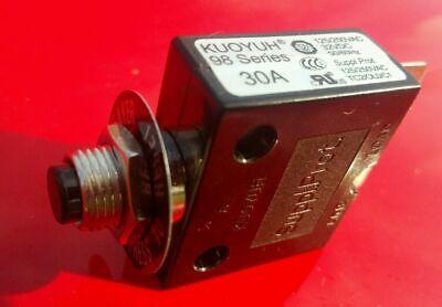 Razor Overvolt Breaker 30 Amp Push Button Circuit Breaker 32v Dc Or 250v Ac