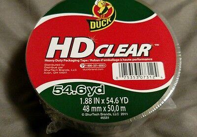 Duck Heavy Duty Packaging Tape 54.6 Yards