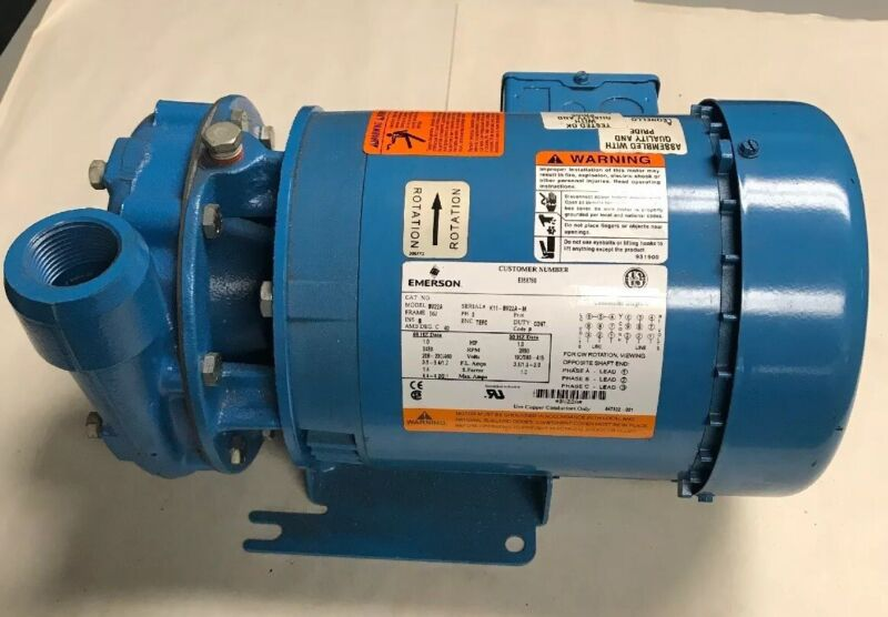 Goulds Pumps 1BF21034 model 3642 Centrifugal Pump 1HP 3 phase