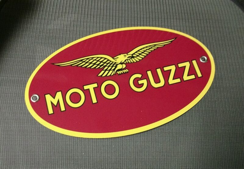Moto Guzzi Italian Motorcycle sign ... Italy