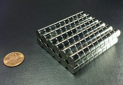 20 Neodymium N52 Cylinder Magnets Super Strong Rare Earth Disc 38 14