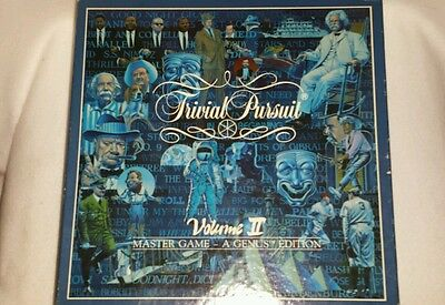 Horn Abbot Trivial Pursuit Volume Ll Master Game A Genus Edition  1987