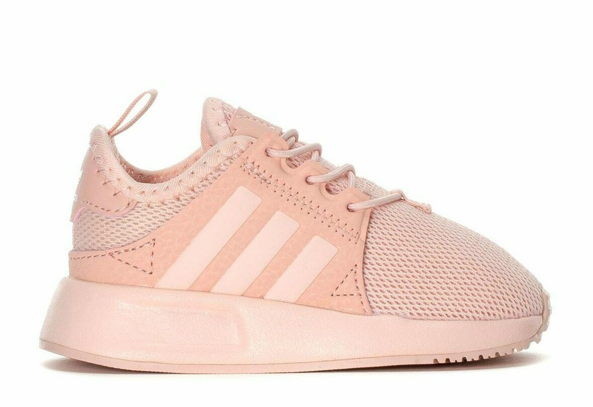 Adidas Originals Infant & Toddlers'  X_PLR EL I Running Shoes Ice Pink BY9962 d