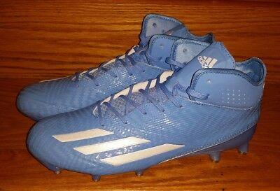 b371a1218b23 Adidas Adizero 5-Star 5.0 Football Cleats Carolina UNC BB8988 Men's US 11.5  Blue