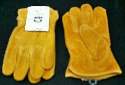 Split Rindleder Handschuhe (Wildleder Handschuhe I-415 Arbeit Keystone Split Kuh Original Leder Rindsleder)