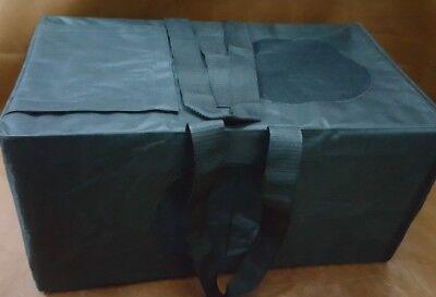 Portable Folding Dog, Cat Bird Pet Cage Transport Crate Car Travel Bag Box XL
