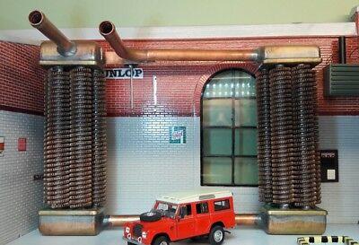 Uprated Rectangular Smiths Heater Matrix Element Core Land Rover Series 2 2a