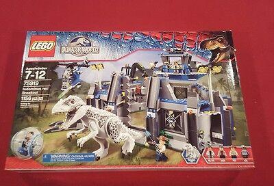 Lego Jurassic World Dinosaurs Indominus Rex Breakout  75919  New Nisb Nib