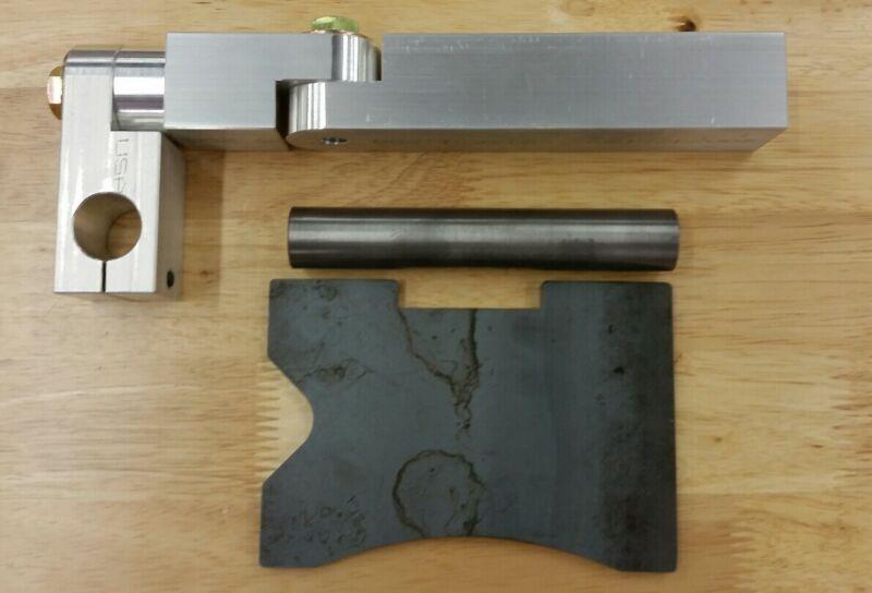 2x72 Belt grinder compoud angle tool rest Mark Graves Grinders