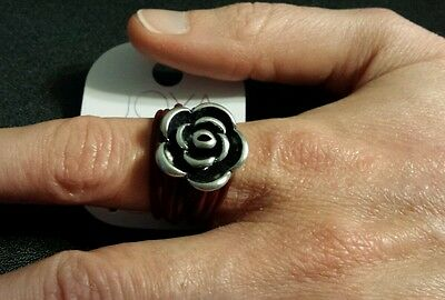 New Joya Par Caracol Ring Fashion Costume Jewelry Lead & Nickel Free Size 8