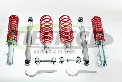 COILOVER KIT VW GOLF MK4 GTI ALL COILOVERS  DROP LINKS TIEFTECH