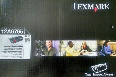 Genuine Lexmark 12A6765 High Yield Print Cartridge. OEM. Sealed. New In Box.