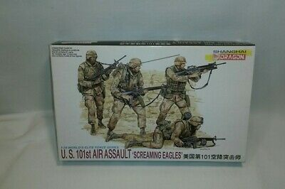 ☆ DRAGON 3011 1/35 Scale U.S.101st Air Assault Screaming Eagles Kit F/SHIP