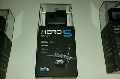 GoPro HERO5 Black 4k Action Camcorder NEWEST BRAND(1only) NEW IN BOX!