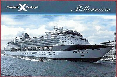 Gts  Millennium     Cruise Ship  Celebrity Cruises   Pc   Going Out To Sea