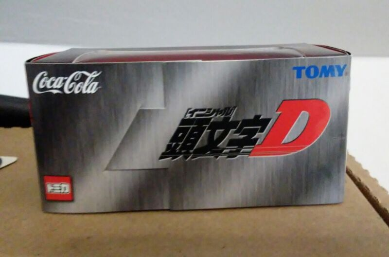 Initial d Nissan skyline R32 manga anime special promo Rare TOMI coca-cola
