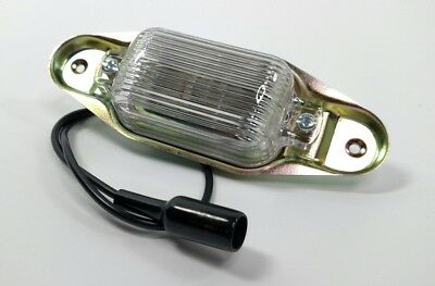 GM Truck License Plate Light Assembly, 1967-91 Chevy GMC C10 C20 C30 C15 C25 -