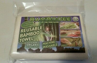 Bambooee Reusable Bamboo Towel Single Sheet Paper Towel alternate Eco Friendly ](Bamboo Paper)