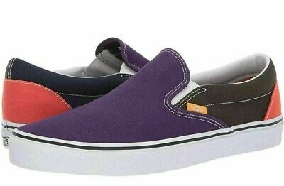 Vans CLASSIC SLIP ON SALE Blue Violet Indigo Mens Womens Sneaker Skate Shoes FS