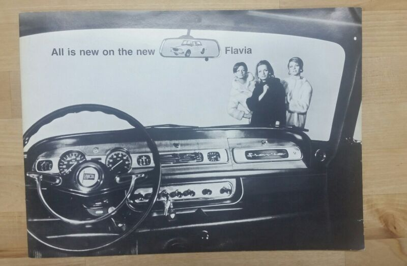 1967 Lancia Fulvia brochure
