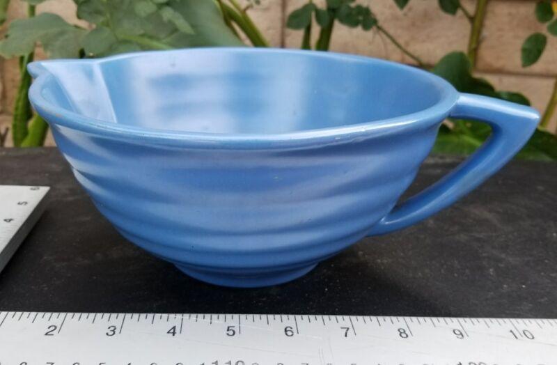 Vintage Bauer Pottery Ringware Delft Bowl