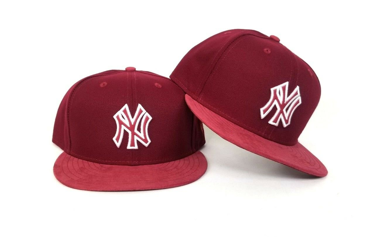 Burgundy New Era New York Yankees 9Fifty Snapback Hat  b02381fed27