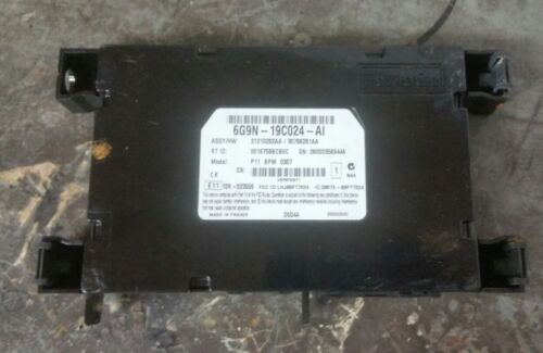 LAND ROVER FREELANDER VOLVO S80 MK2 BLUETOOTH TEL CONTROL MODULE 6G9N-19C024-AH