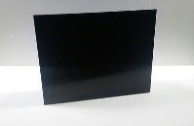 12 Black Uhmw Virgin Sheet 8x10 Cnc Millstock Plastic 2057