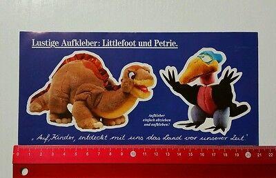 Aufkleber/Sticker: Dinosaurier Littlefoot und Petrie (230516163)
