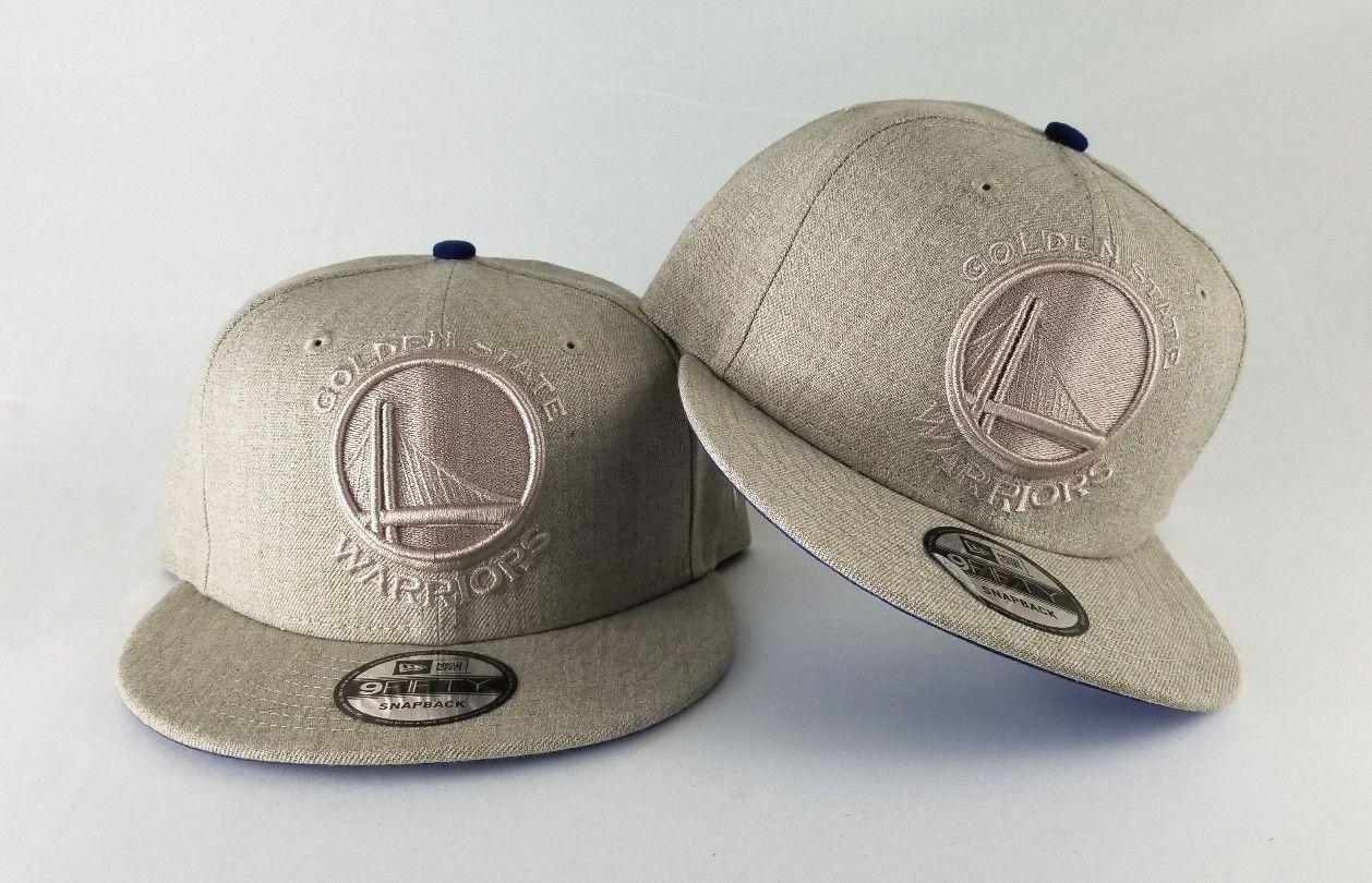 c0dea784fd5 New Era Wheat Color Golden State Warriors 9Fifty Snapback Hat