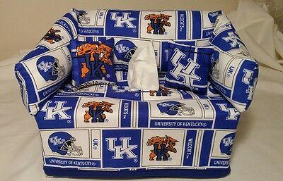 - Kentucky Wildcats Tissue Box Cover Handmade