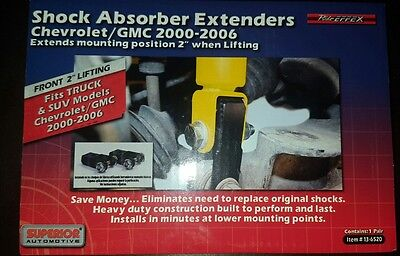 """Front Shock Extender For 2-4"""" Lift 