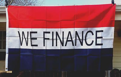 Business Advertising Sale Flag Message Banner Antiques Finance Open Welcome Sign