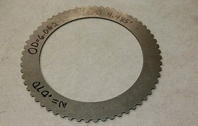 Taylor Forklift Clutch Steel Plate 4443-293 New 1 Piece