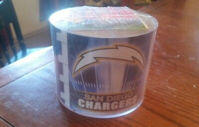 (San Diego Chargers Team Logo Desk Caddy with 750 Sheet Note Pad)