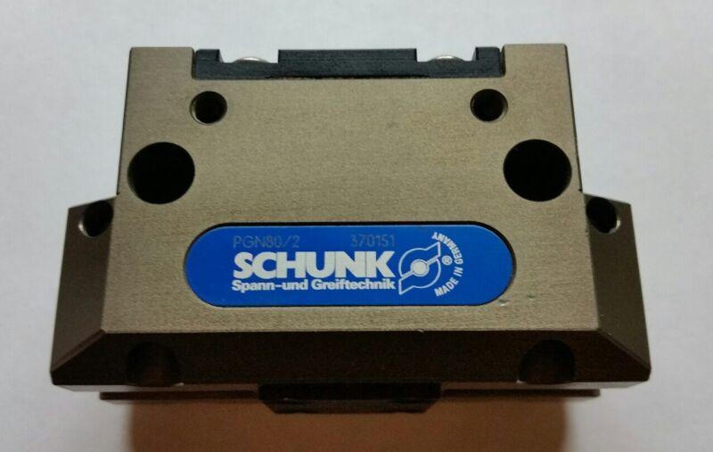 Schunk, Pneumatic 2 Finger Parallel Gripper, PGN 80/2 ,  P# 370151